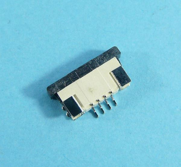 FFC DS1020-07-4VBT1A-R GN.4-PIN r=1mm