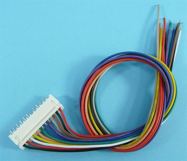 ZL.MICRO JST 12-PIN 30cm R-2,5 26AWG